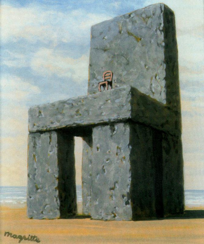 René Magritte. The legend of the centuries