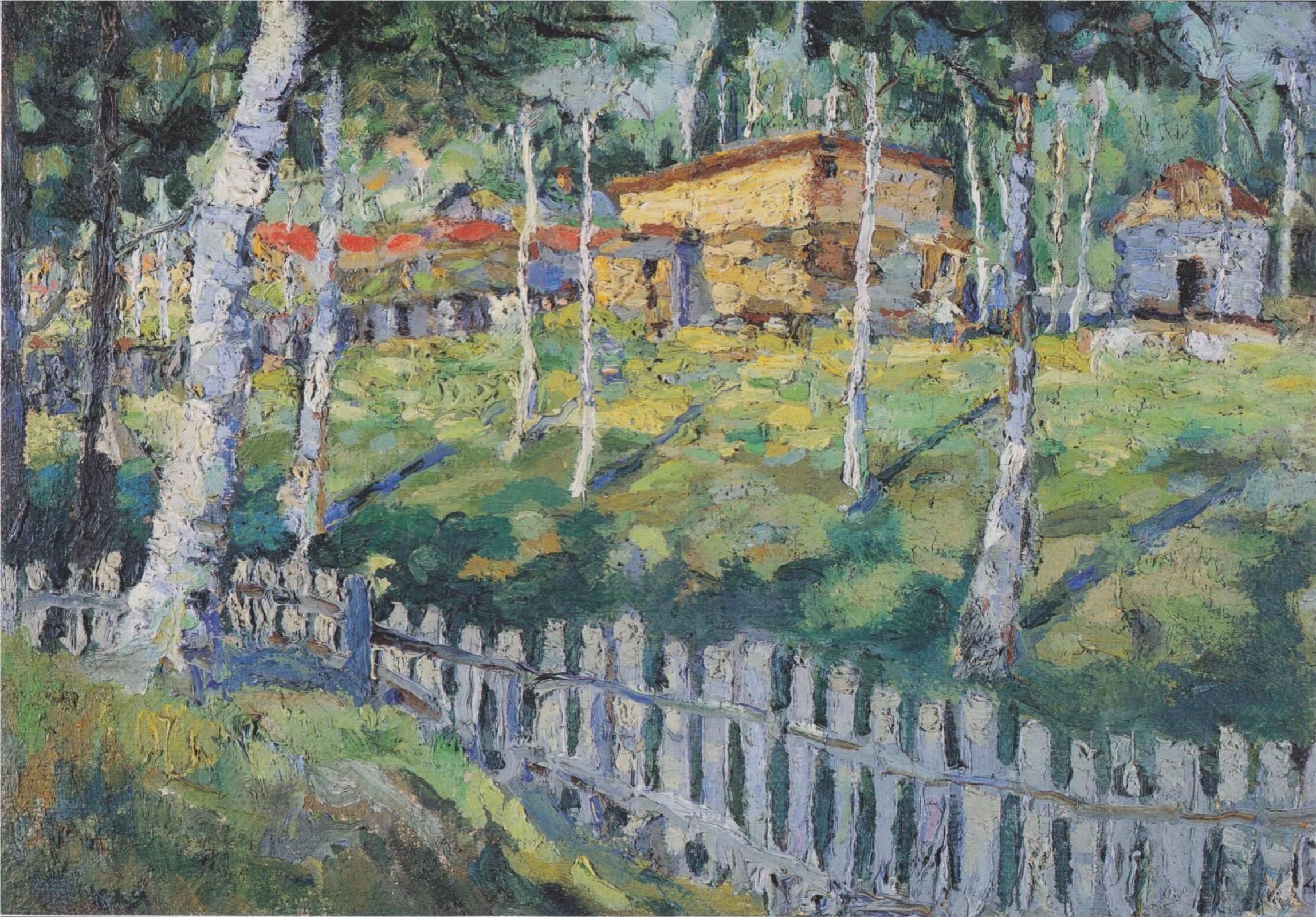 Kazimir Malevich. Birkenhain