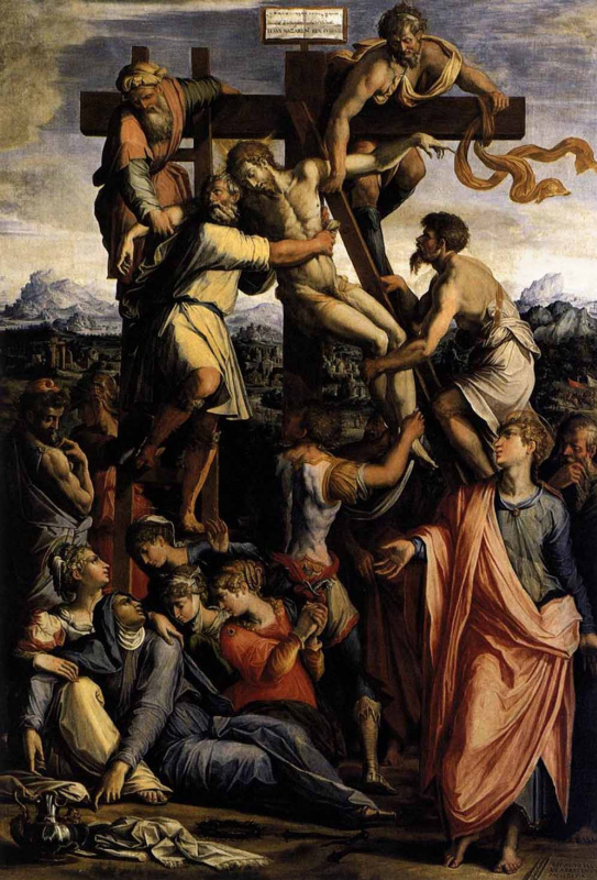 Giorgio Vasari. The descent from the cross