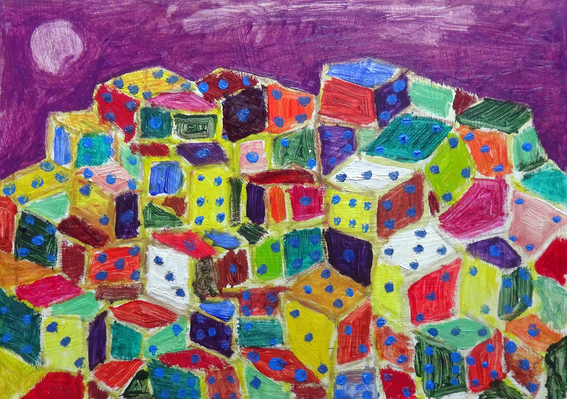 Murad Khalilov. The city of dice