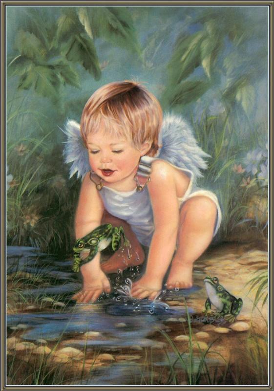 Донна Брукс. Мальчик с крыльями