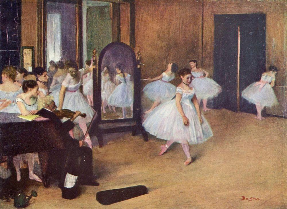 Эдгар Дега. Танцевальный зал