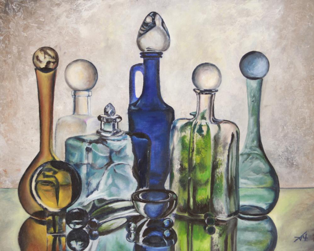 Alexey Chernov. Glass still life