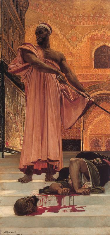 Анри Ренье. Суд мавританского короля