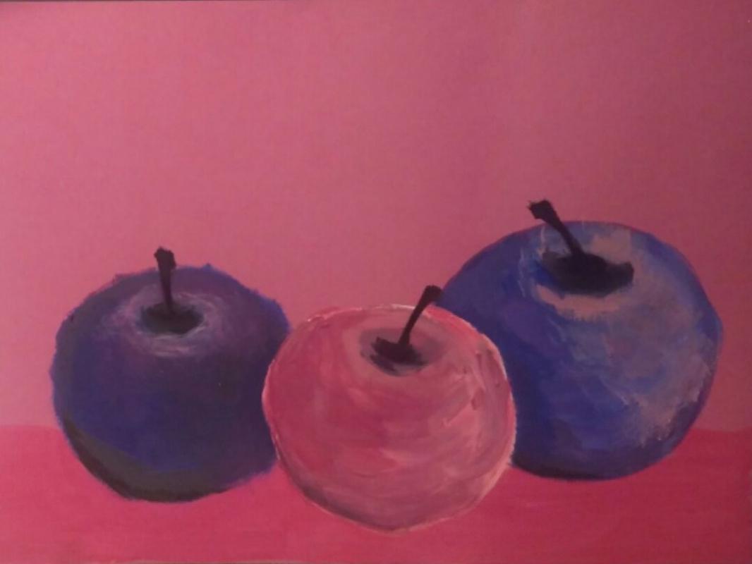 Polina Alekseevna Alexandrova. Little apples