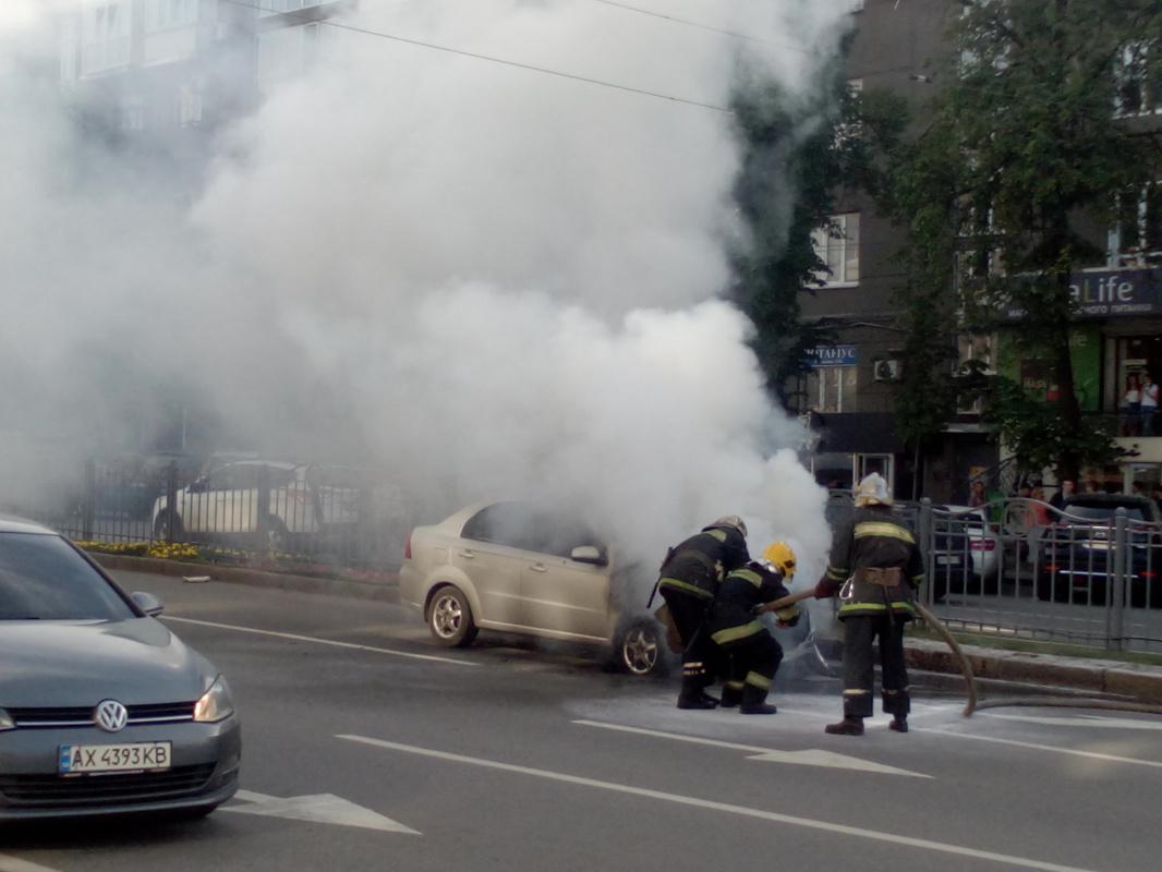 """Alexey Grishankov (Alegri). """"Knocking down the flame"""""""