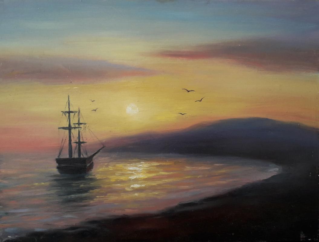Alexander Viktorovich Konnov. Sunset