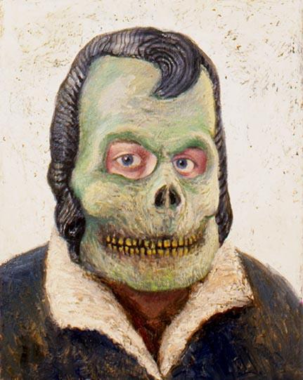 Кристоффер Зеттерстранд. Зеленая маска
