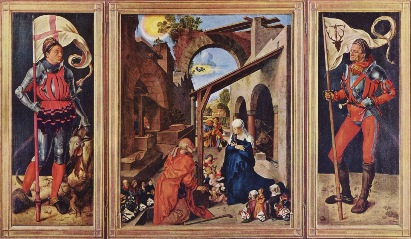 Albrecht Dürer. The Altar Of Baumgartnerhof