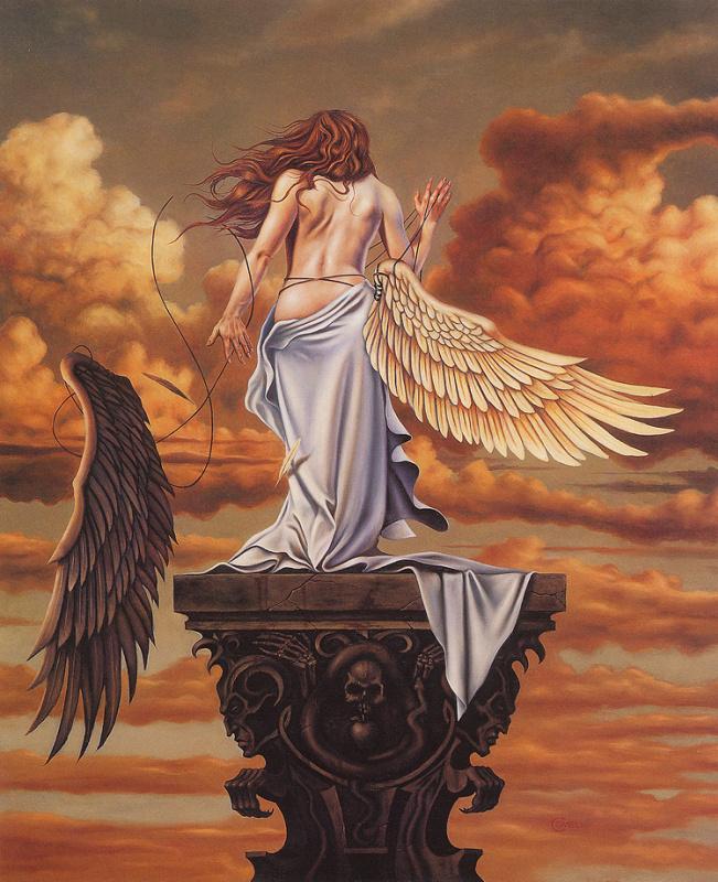 Марк Ковелл. Девушка с крыльями
