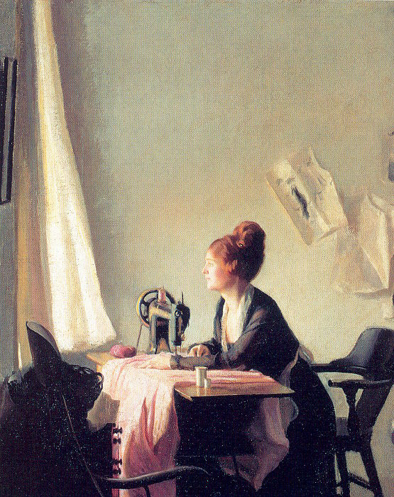 Элизабет Пакстон. Швея