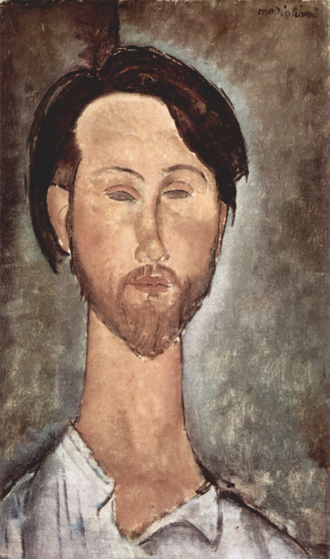 Амедео Модильяни. Портрет Леопольда Зборовского