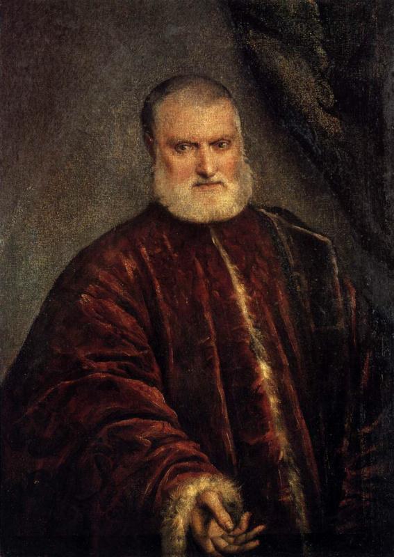 Jacopo (Robusti) Tintoretto. Portrait of the procurator Antonio Capello