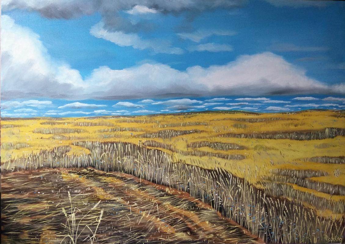 Vladimir Adamovich Ropot. Bread field