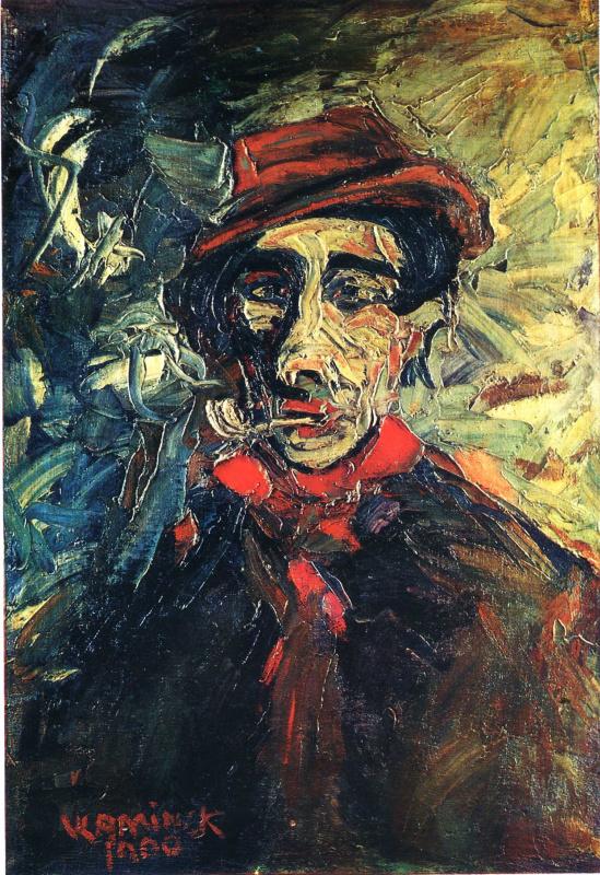 Морис де Вламинк. Мужчина с трубкой (Портрет папаши Бужю)