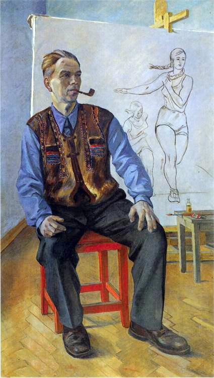 Александр Александрович Дейнека. Портрет художника