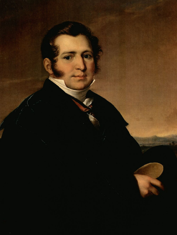 Vasily Andreevich Tropinin. Portrait Of Alexei Ivanovich Kusova