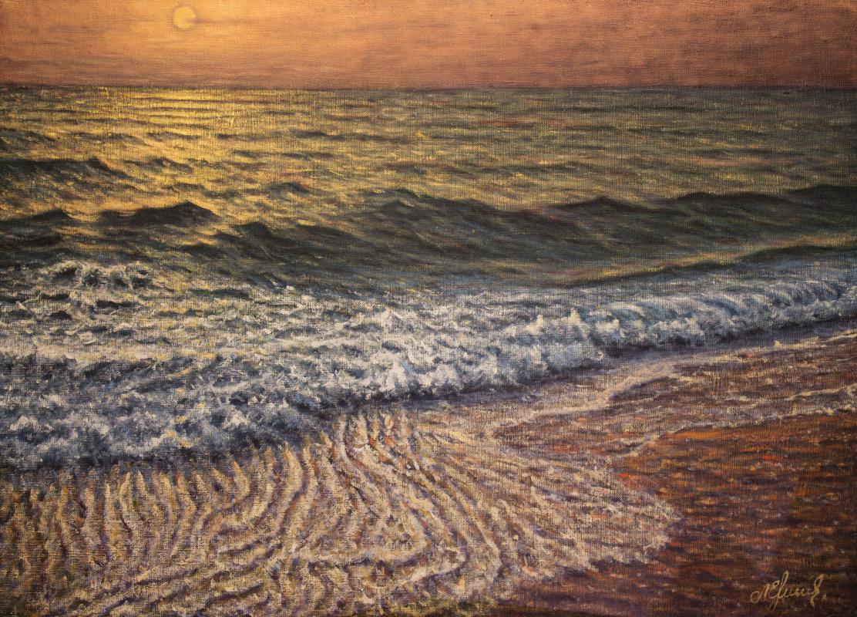 Valery Levchenko. No. 497 Seascape.