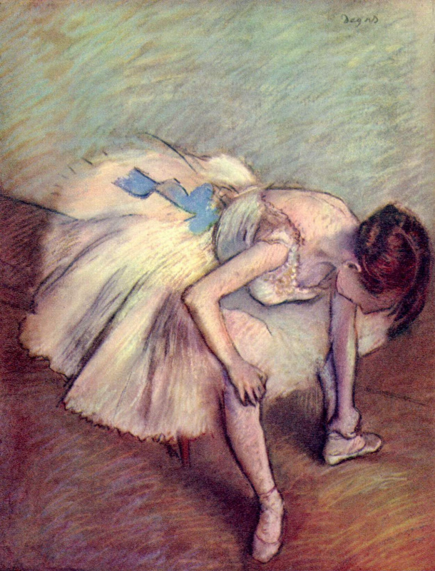 Эдгар Дега. Танцовщица