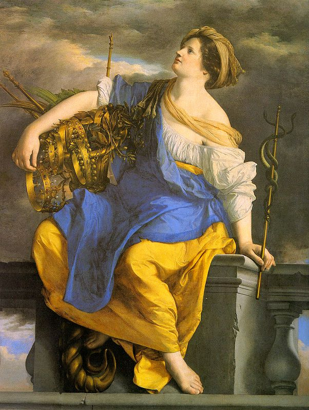 Orazio Gentileski. Woman