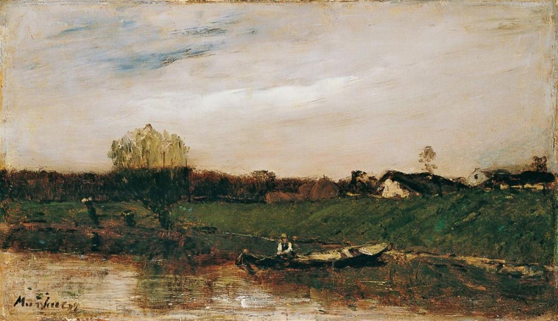 Михай Либ Мункачи. Французский пейзаж