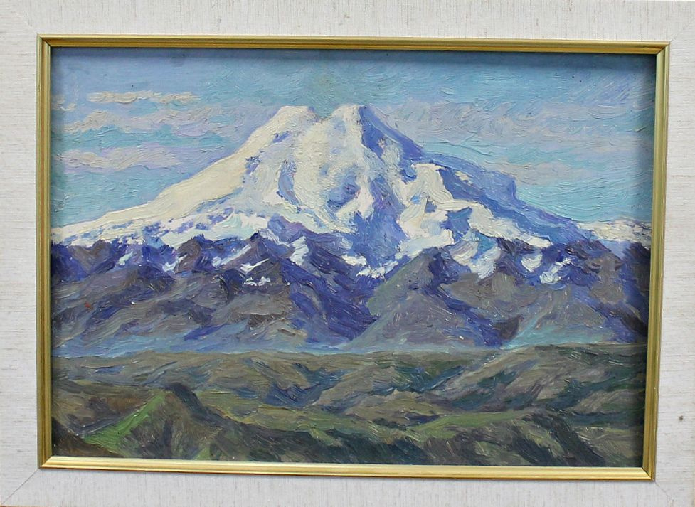 Orest Georgievich Betekhtin. Elbrus. Bermamyt