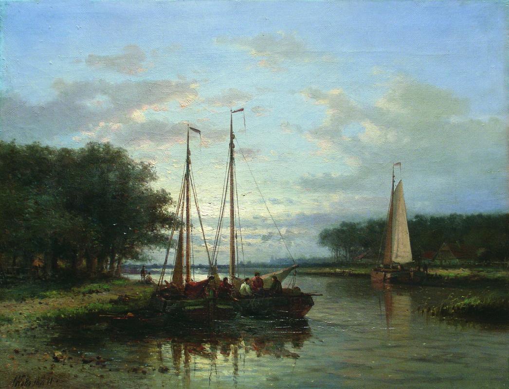 Лев Феликсович Лагорио. Залив. 1871