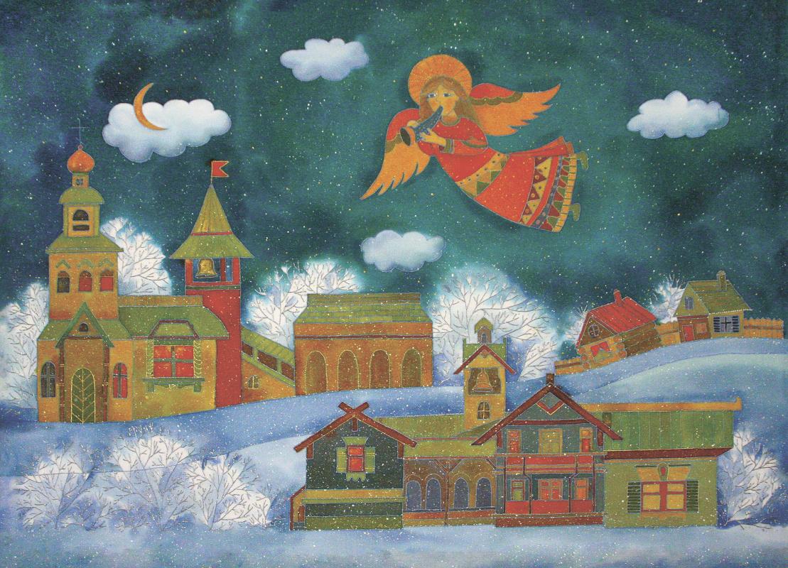 Ксения Михайловна Стеценко. Christmas tale