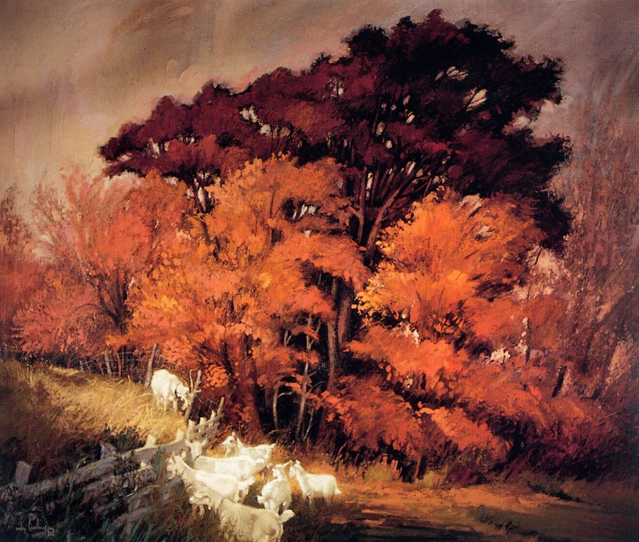 Андре Ларчевек. Осень