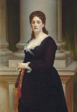 Frederic Leighton. Mrs Stephen Ralli