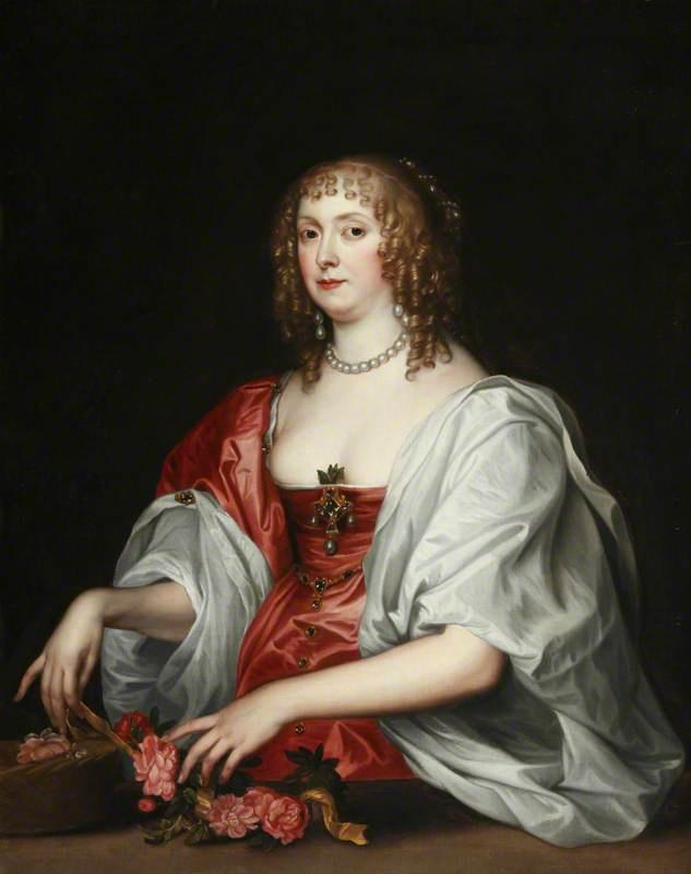 Anthony van Dyck. Katherine Bruce, Mrs William Murray