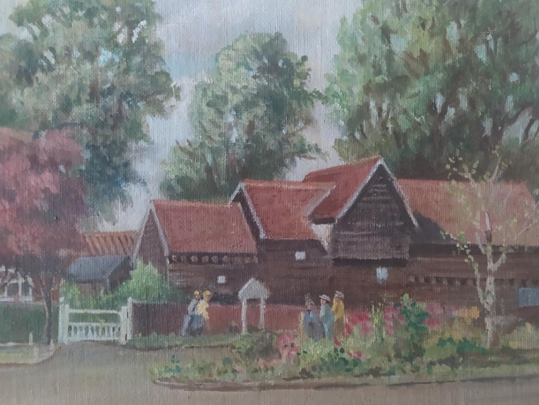 Дом на ферме.