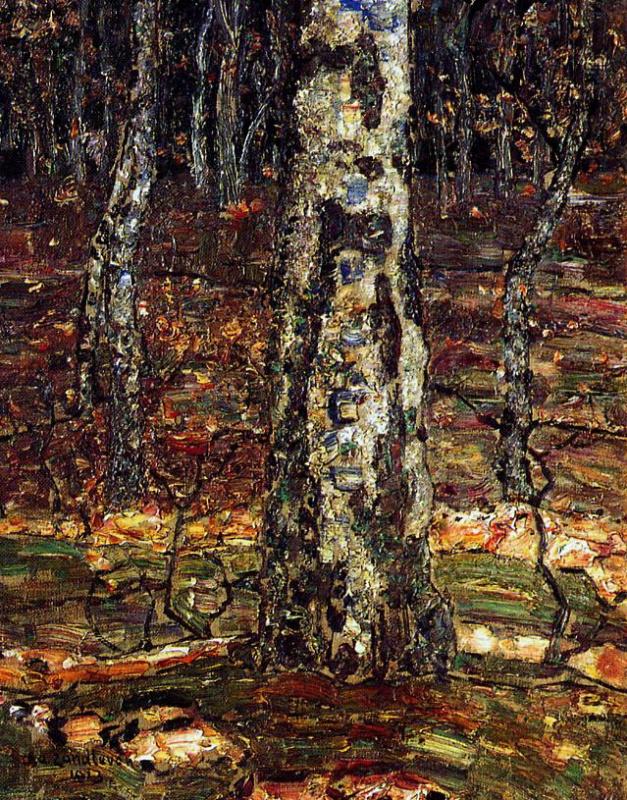 Ян Зандлевен. Лесной вид