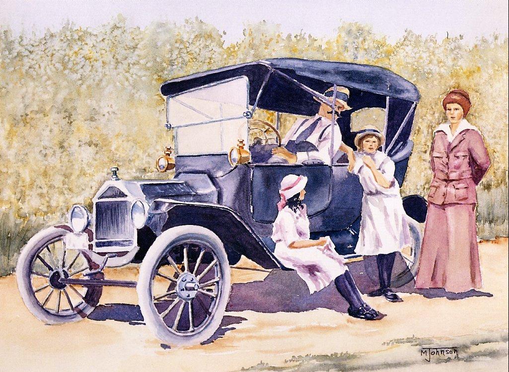 Морин Джонсон. Папин первый автомобиль