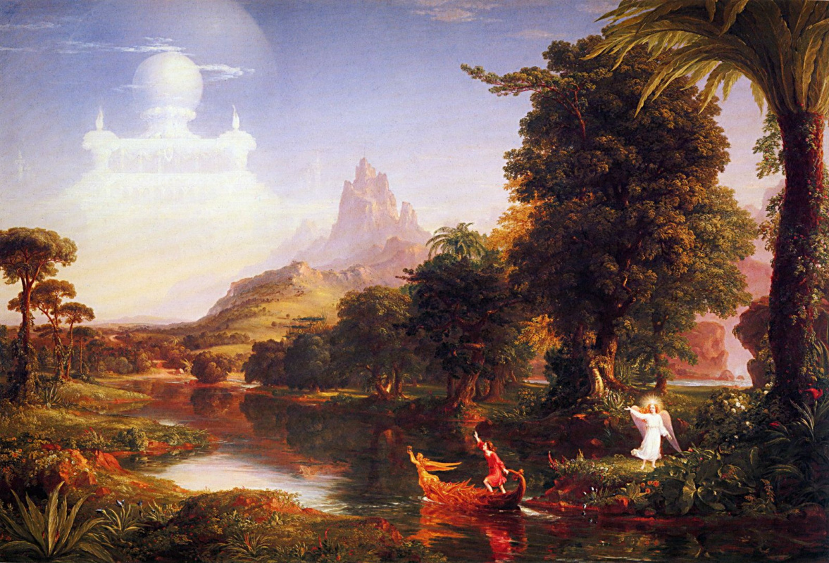 Thomas Cole. The journey of life. Youth