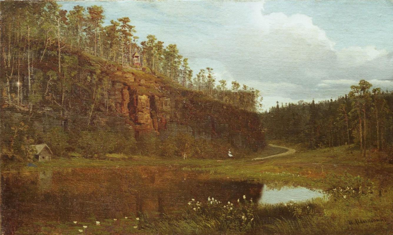 Иван Иванович Шишкин. Перед заходом солнца