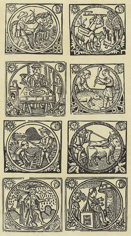 Ханс Розенбах. Лунный календарь