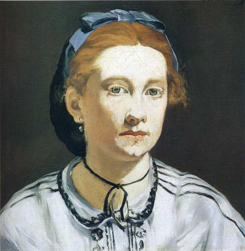 Edouard Manet. Victorine Meurent