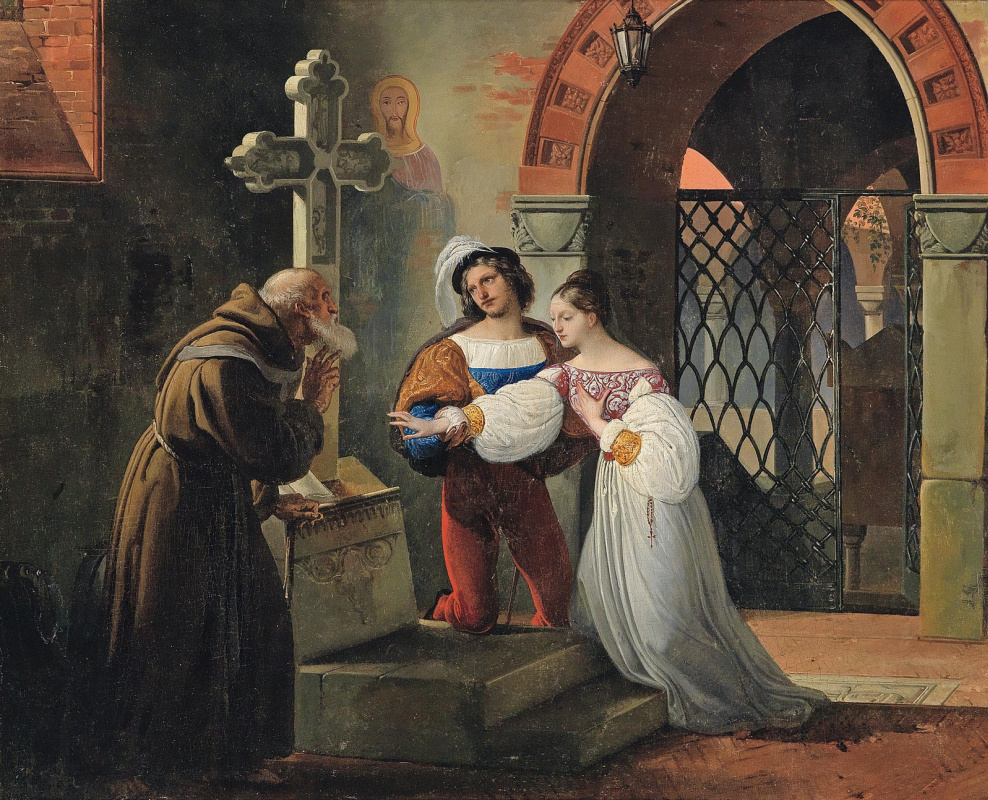 Francesco Ayets. Marriage Romeo and Juliet