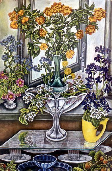 Alexandra Grigoryevna Tyapkina. Wildflowers