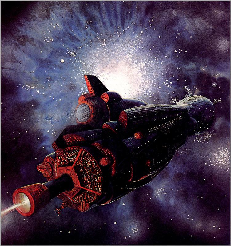 Боб Лаузелл. Космический корабль 23