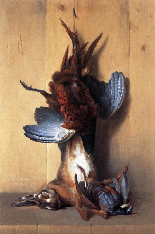 Жан-Батист Удри. Жертвы охотников