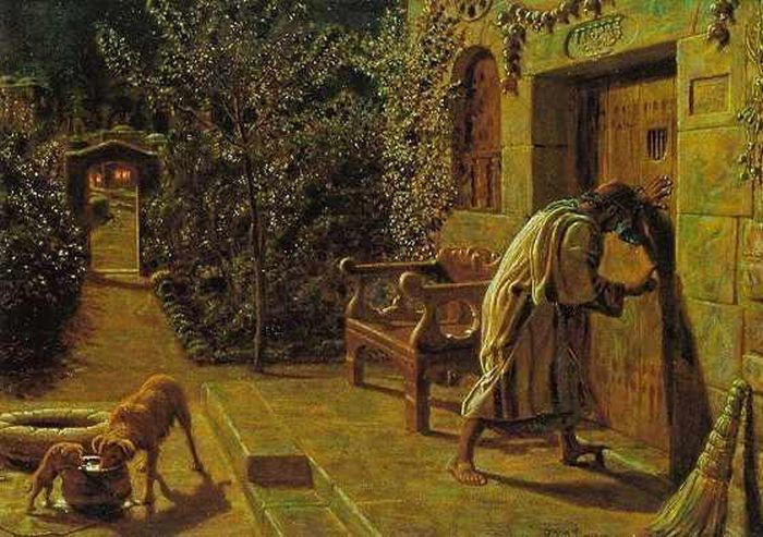 William Holman Hunt. Annoying neighbor