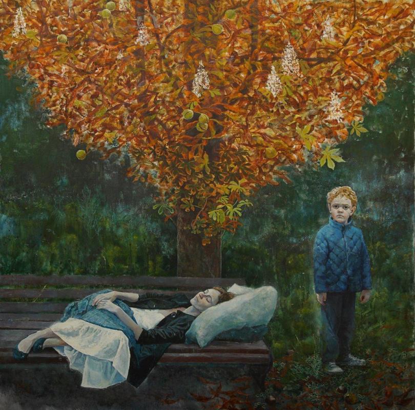 """Polina Kuznetsova. По мотивам детского рисунка  """"мама дерево и я"""""""