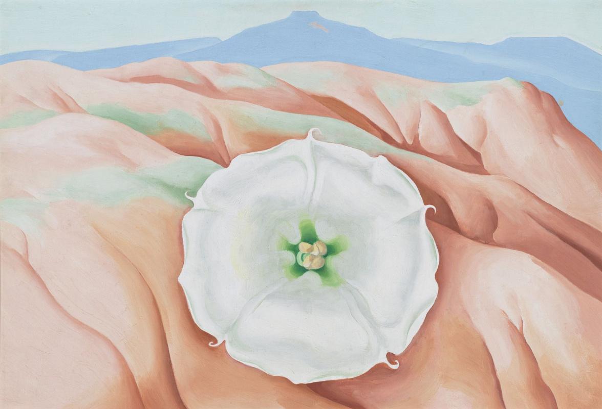 Джорджия О'Киф. Дурман и Педернал (Столовая гора)