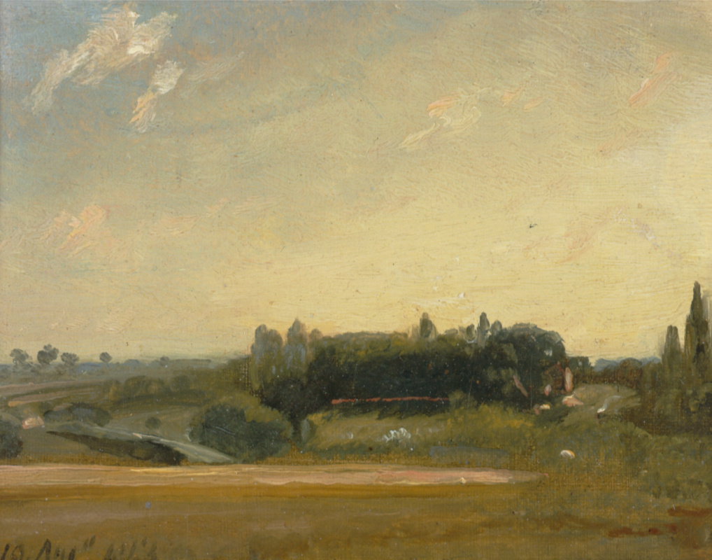 John Constable. A view of the rectory. Eastern Bergholt