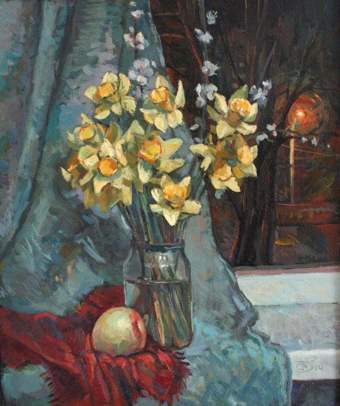 Александр Дмитриевич Свистунов. Нарциссы
