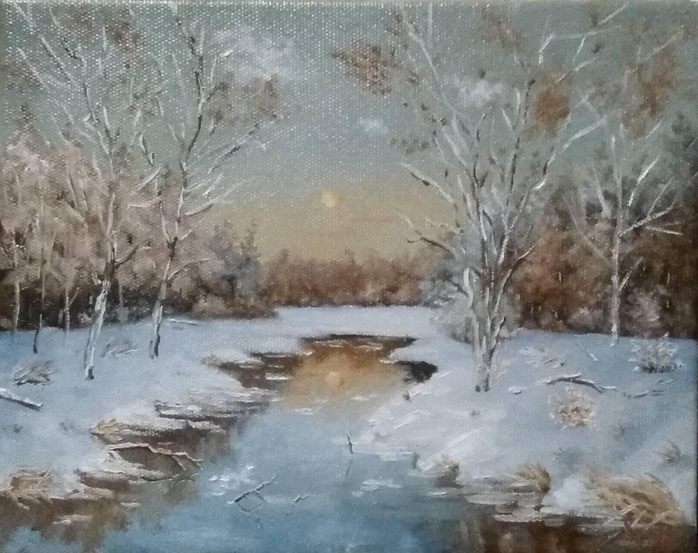 Сергей Николаевич Ходоренко-Затонский. Landscape