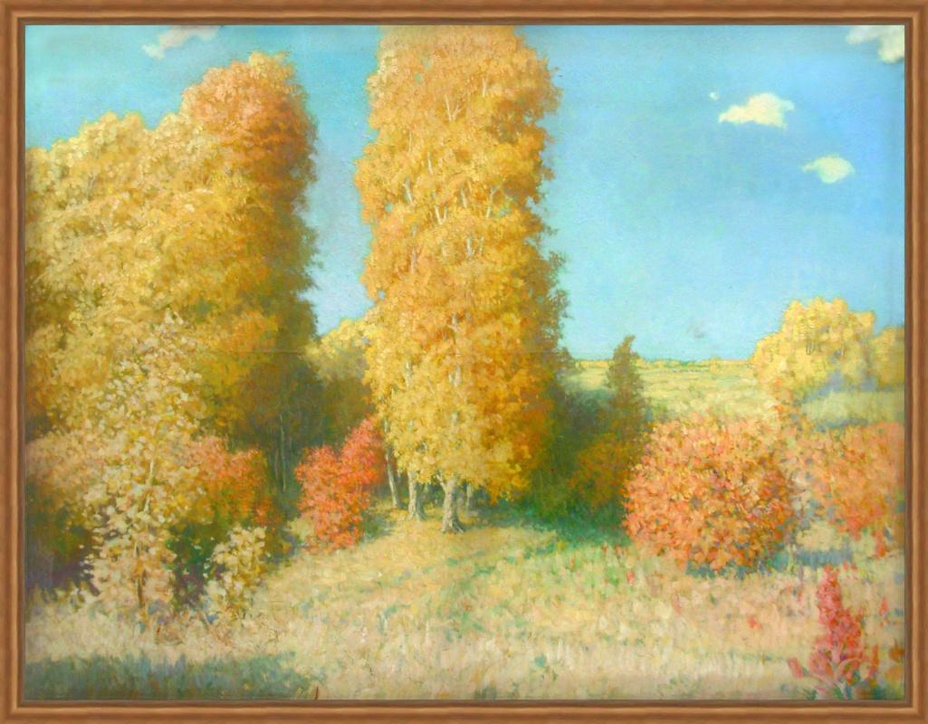 Alexandrovich Rudolf Pavlov. Autumn