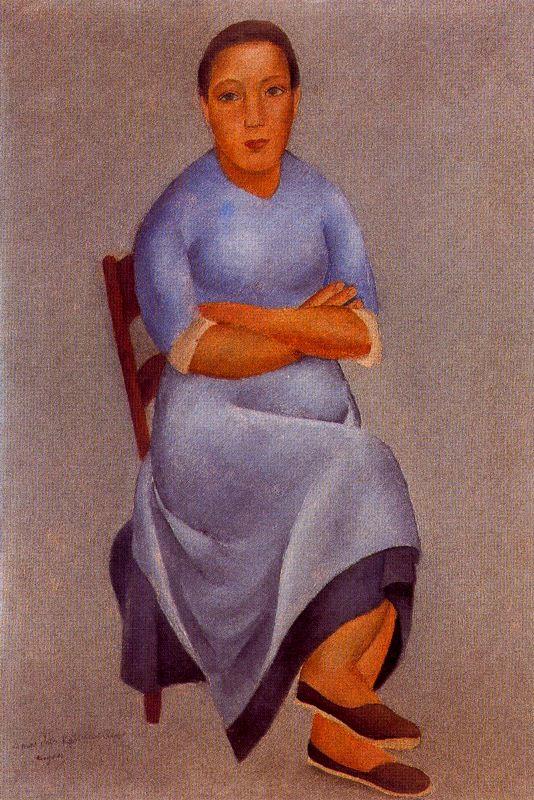 Хосе де Тогорес. Девушка на стуле